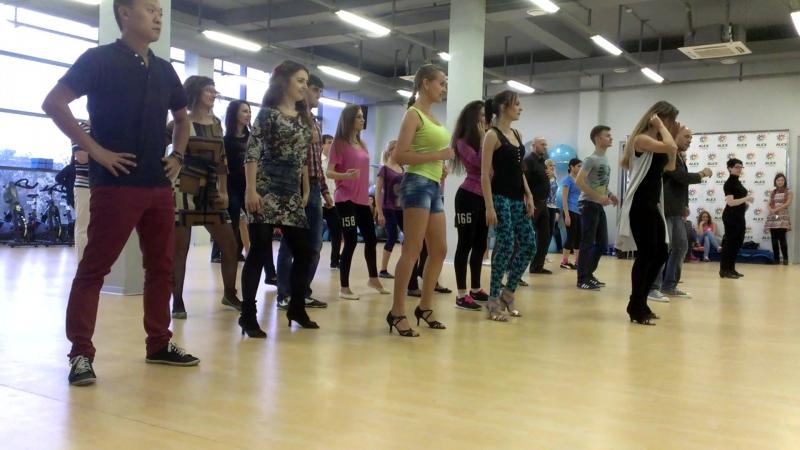 BachataBoom в Alex Fitness г Ставрополь Dance Boot Camp 24 10 2015 II я часть