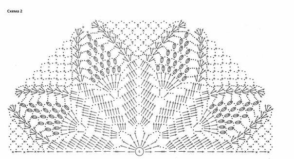 Схемы салфеток для болеро