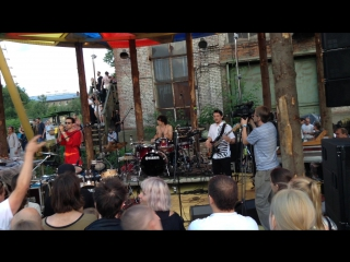 Philipp Gorbachev & The Naked Man live band@Outline 05.07.2015