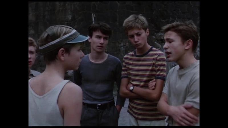 Блаженные и девочки / Полоумные и девочки / Blazni a devcatka (Чехословакия, 1988)