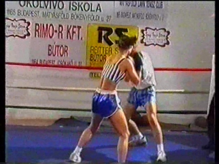EU-27 Diana vs Norbert (DWW Mixed Boxing)