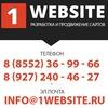 Создание и продвижение сайтов - 1website.ru
