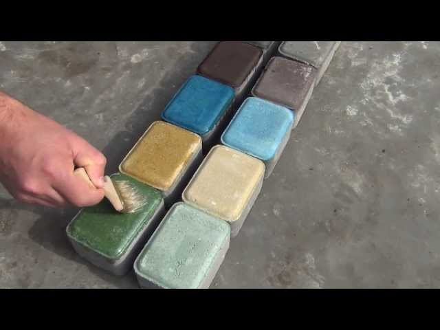 Лак для тротуарной плитки (брусчатки, ФЭМ) ЕС-84 ГОРИЗОНТ