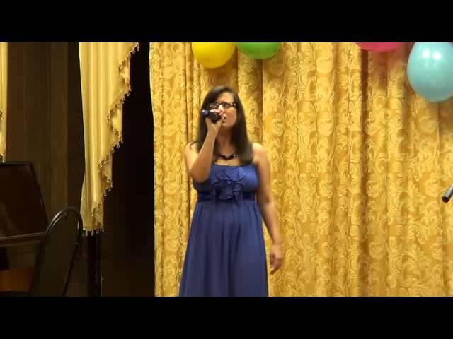 Сольный концерт Марины Барадиной