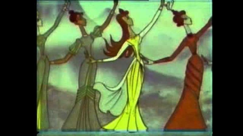 Azeri cizgi filmi. Qiz qalasi efsanesi. (1978)| vk.com/mehelle