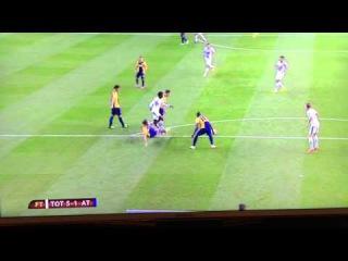 Lamela wonder goal Spurs v Asteras Tripolis 23/10/14