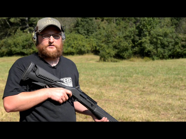 Benelli M4 with ATI Raven Stock and Forend