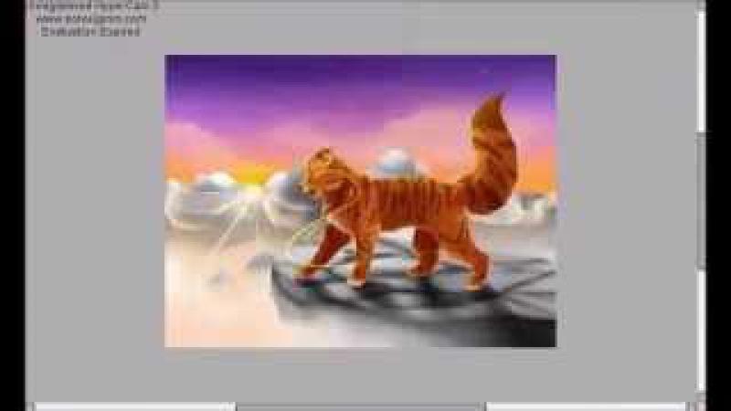 Warrio Cats Lionblaze -Roar- Speedpaint