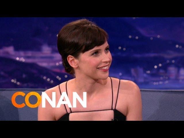 Felicity Jones Teaches Conan Brummie Slang