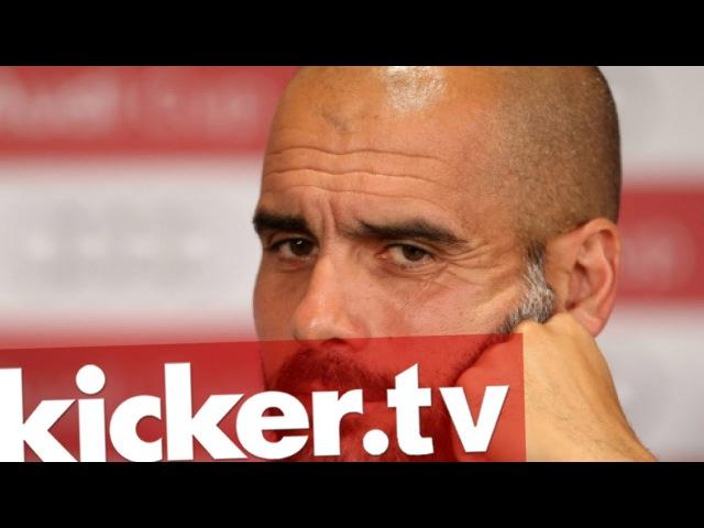Gehörig genervt - Guardiola fühlt sich missverstanden - kicker.tv