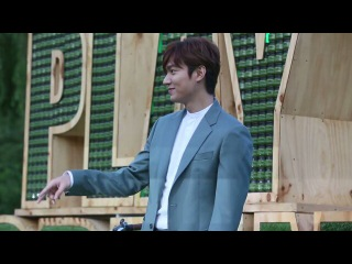 "💖 Lee Min Ho 이민호 💖 on Instagram: ""150912 Lee Min Ho for Innisfree Play Green Festival 🍀🍃🌿 . .. Cr. Moneytodaynews~youtube channel https://youtu.be/CHYXiXa_uzY #이민호 #LeeMinHo"
