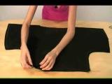 Шьем блузку легко и быстро. шитье платья мастер класс рукоделье лайфхак