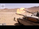 U.S. M1A1 Abrams Train With Jordanian Challenger 1 Tanks