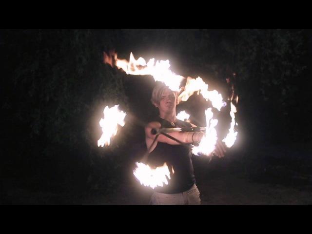 Imagine Dragons - Radioactive (R-Fire Life-Production) Огненное фаер шоу Ростов (Клип)