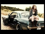 NAKED CAR - RETRO OLD CAR WITH GIRLS #1