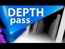 Настройка канала глубины (depth pass) в Cinema 4D для After Effects (эффект DOF, Bokeh) - C4D 008