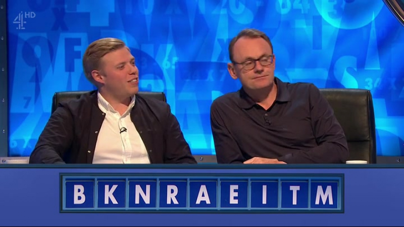 8 Out of 10 Cats Does Countdown 9x02 - Rob Beckett, Cariad Lloyd, Jamie Laing