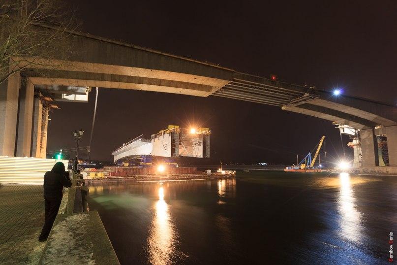 В Ростове начался монтаж руслового пролета дублера Ворошиловского моста