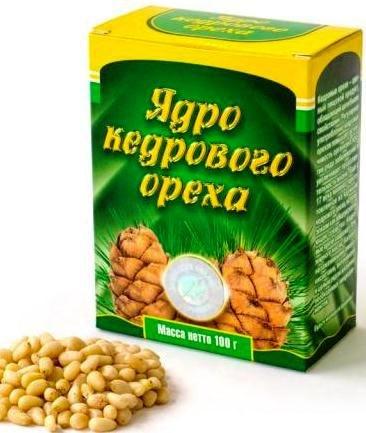 Ядро кедрового ореха,100 гр.