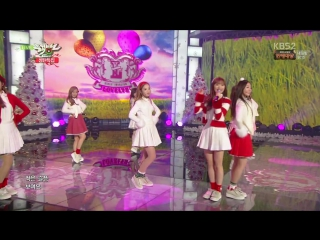 151225 Lovelyz (러블리즈) - Must Have Love + For You (그대에게) @ 뮤직뱅크 Music Bank Chrismast Special