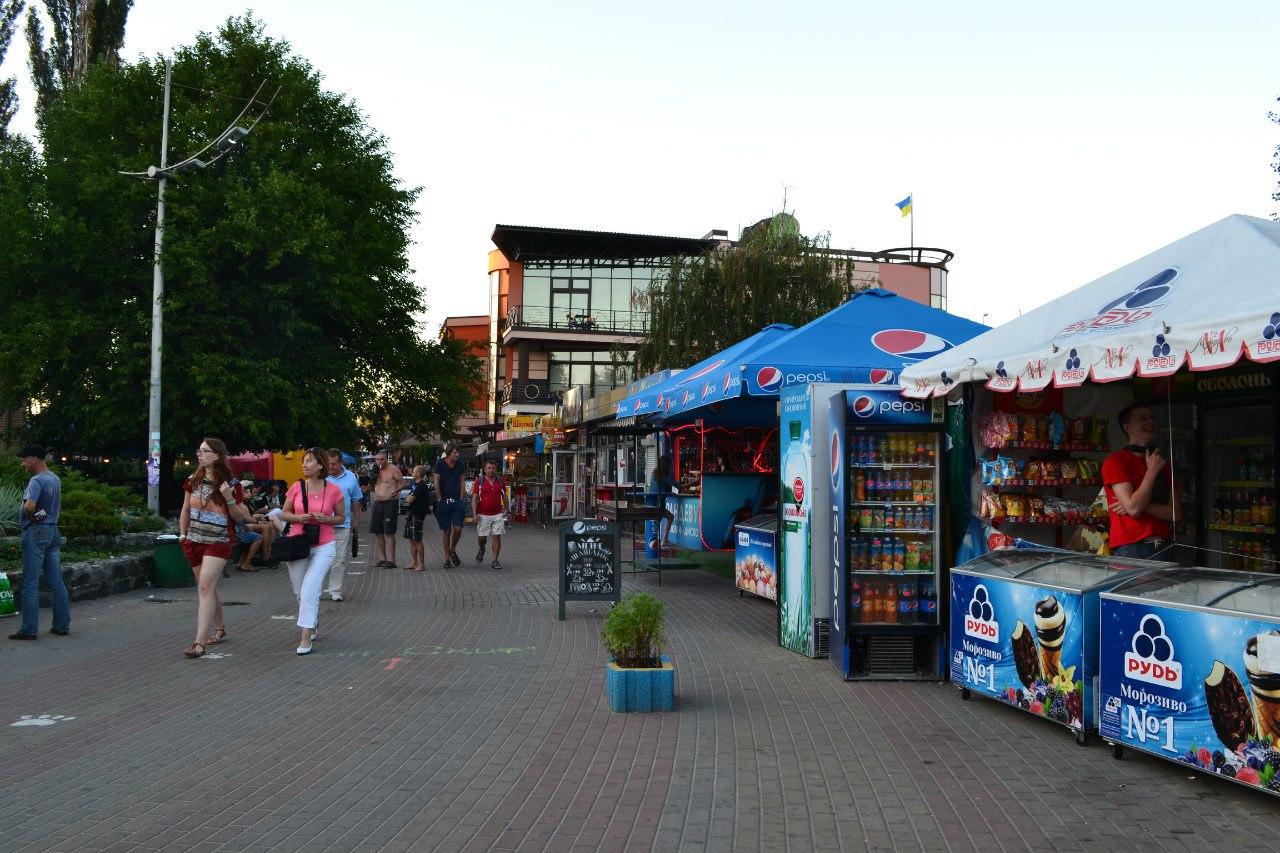 Киев. Гидропарк. 17 августа 2015 г. Елена Руденко I53sF3z44DU