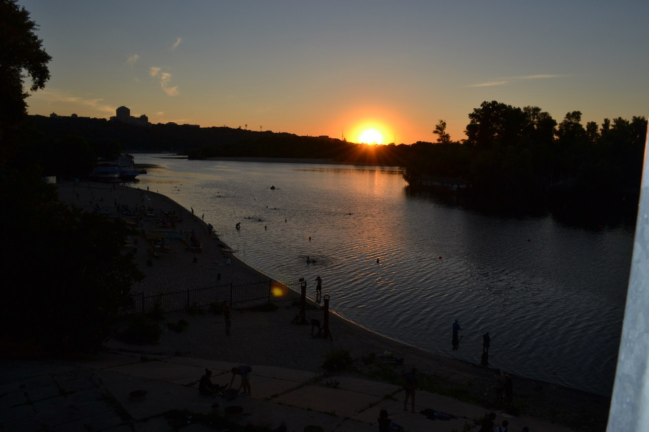 Киев. Гидропарк. 17 августа 2015 г. Елена Руденко Otyv2K-gIcE