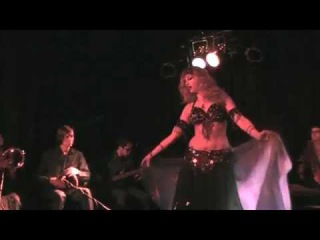 Belly Dancer Sedona Soulfire performs with Ritim Egzotik