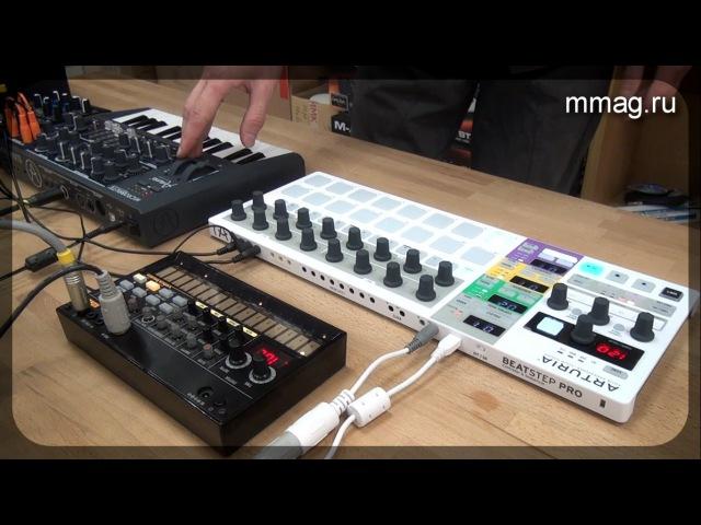Arturia Beatstep Pro - midi-контроллерсеквенсор