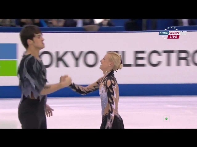 Swan Lake ballet on ice by Volosozhar Trankov at 2012 World Championship