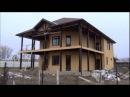 Построенный нами соломенный дом в г.Майкопе 2013. Сайт Юрия Коваленко www.солэкодом.рф