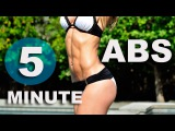 5 Minute Workout #35 - ABS!!