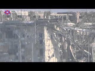 Донецкий аэропорт сегодня! 5.12.2014 года