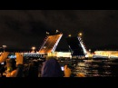 Санкт-Петербург. Белые ночи. Разводные мосты. Дворцовый мост.