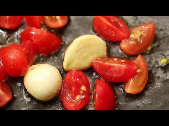 Spaghetti di Gragnano vongole e pomodorini