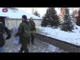 04.12.14. Павел Губарев поддержал народное ополчение в Еленовке