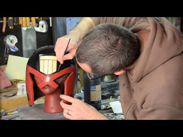 Dredd Helmet Kit Painting Part 3 Punished Props