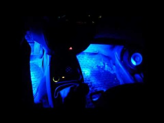 LED подсветка ног и багажника в Лада Калина Хэтчбек Ваз 1119