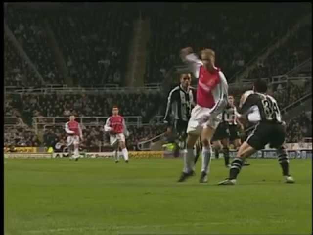 Bergkamp's wonder goal against Newcastle United