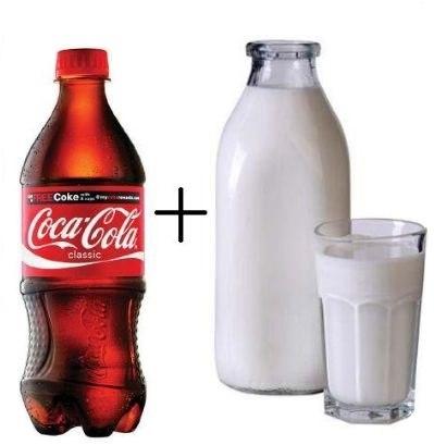 Что будет, если добавить молоко в Coca-Cola (7 фото)