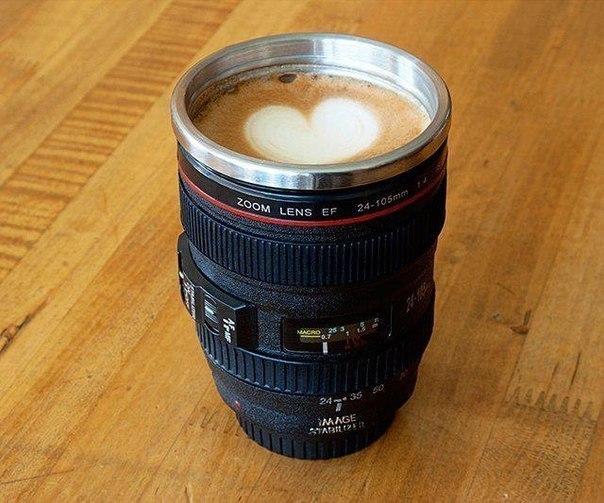 Крута чашка для фотографа-кавомана.#Бруно #Дрогобич