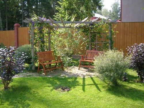 Дизайны садовых участков своими руками фото