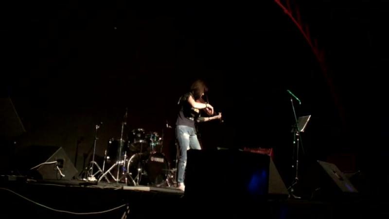 Бон Джови – Hallelujah.Каверверсия.Елена Галицина-скрипка,выступление на моточетверге в Tunnel