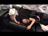 RUS SUBBANGTAN BOMB It's the pose when BTS sleep normally