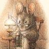 Полосатая мышь. Украшения ручной работы