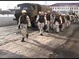 Морские пехотинцы Северного флота совершили марш в район погрузки на большие десантные корабли