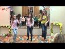 """Танец девочек на Отчётном концерте в осеннем лагере """"АБВГДейка"""" 2015_11_06"""