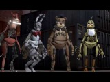 FNAF DrawKill Animatronics - SFM ConfederateJoe Model Overhaul (♫Shufflehound♫)