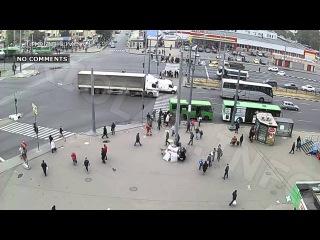 Triolan.Live - ДТП на перекрестке пр. Героев Сталинграда - пр. Гагарина (24-10-2015)