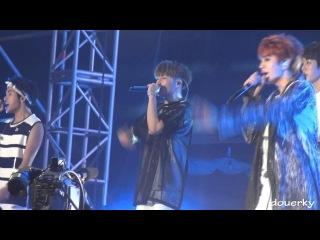 Fancam [150815] Infinite (Sunggyu) - In The Summer • «National Unity Festival».