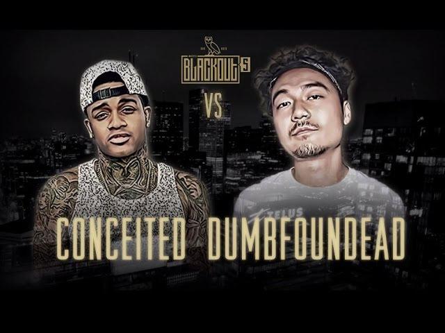 KOTD - Rap Battle - Conceited vs Dumbfoundead | Blackout5